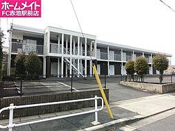 愛知県名古屋市天白区梅が丘3丁目の賃貸アパートの外観