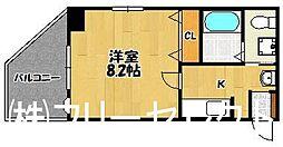 ハイツA&S[2階]の間取り