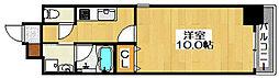 TKアンバーコート六条通[6階]の間取り