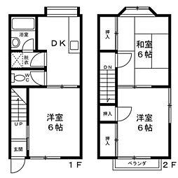 [テラスハウス] 神奈川県座間市入谷東4丁目 の賃貸【神奈川県 / 座間市】の間取り