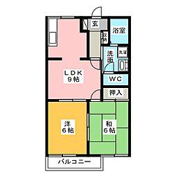 パストラルハイム[2階]の間取り