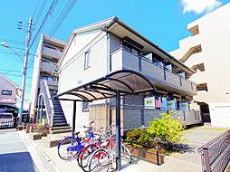 埼玉県富士見市ふじみ野東2丁目の賃貸アパートの外観