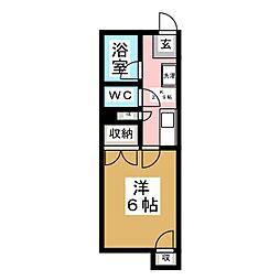 ニューハイツ大泉[1階]の間取り