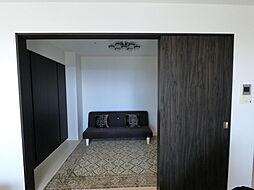2LDKの居間