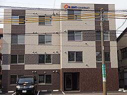 北海道札幌市中央区南二十一条西13丁目の賃貸マンションの外観