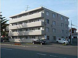 北海道江別市幸町の賃貸マンションの外観