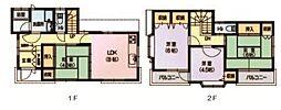 [一戸建] 埼玉県さいたま市桜区大字白鍬 の賃貸【埼玉県 / さいたま市桜区】の間取り