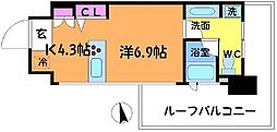 COURS (クール)[8階]の間取り