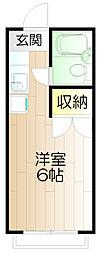ガーデンハウス小金井[202号室]の間取り