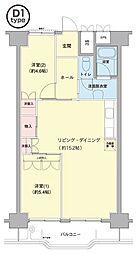 横浜若葉台[3-2-402号室]の間取り