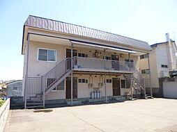北海道小樽市桜5丁目の賃貸アパートの外観