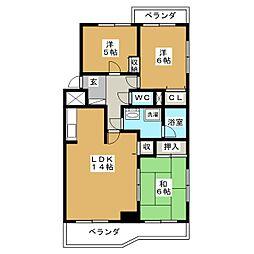 ベター・アール01[1階]の間取り