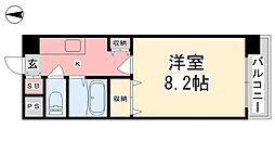 ジョイフル第2朝生田[505号室]の間取り