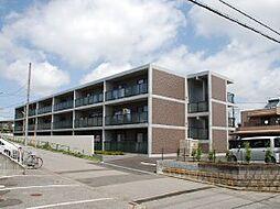 千葉県松戸市八ケ崎の賃貸マンションの外観