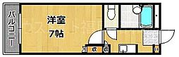 プチパレット浄水[3階]の間取り