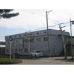 北海道北見市とん田東町の賃貸アパートの外観