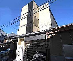 京都府京都市下京区正面通新町西入四本松町の賃貸アパートの外観