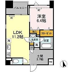 (仮)高島平プロジェクト[205号室]の間取り