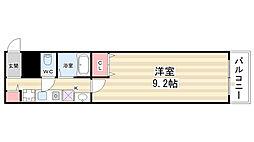 ポポラーレ御池[4階]の間取り