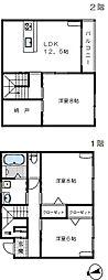 [一戸建] 埼玉県さいたま市桜区大字上大久保 の賃貸【/】の間取り