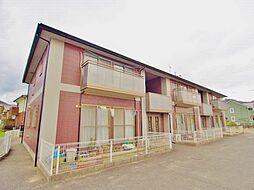 広島県安芸郡熊野町城之堀4丁目の賃貸アパートの外観