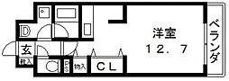 ルシェロ・ノルテ[106号室号室]の間取り
