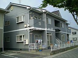 岡山県岡山市東区西大寺松崎丁目なしの賃貸アパートの外観
