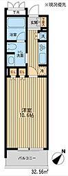 HF新横浜レジデンス[4階]の間取り