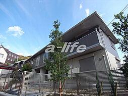 兵庫県神戸市東灘区岡本9丁目の賃貸アパートの外観