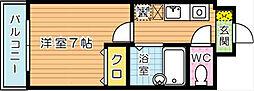 パームコート[2階]の間取り