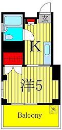 パークヒルズお花茶屋[3階]の間取り