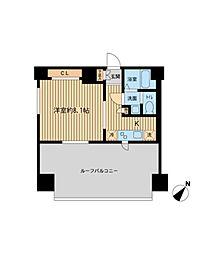 ザ パーククロス町田(旧ルラシオン町田)[12階]の間取り