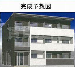 三重県名張市平尾の賃貸アパートの外観
