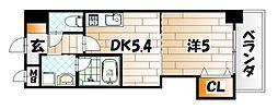 THE SQUARE Platinam Residence[2階]の間取り
