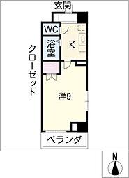 コウエツビル[5階]の間取り