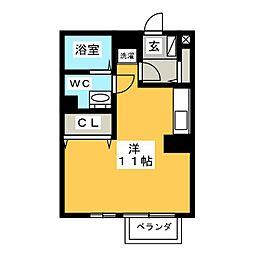 DOLCE[1階]の間取り