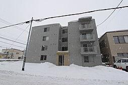 北海道札幌市白石区平和通4丁目の賃貸マンションの外観