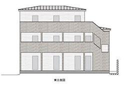 東京都北区赤羽西4丁目の賃貸アパートの外観