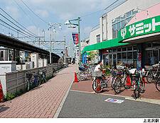 上北沢駅(現地まで640m)