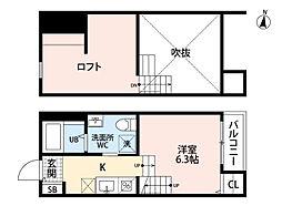 RIVERE 〜リヴェール〜 賀茂[1階]の間取り
