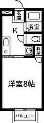 上佐鳥町新築アパート[201号室]の間取り