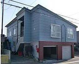 北海道札幌市南区北ノ沢5丁目の賃貸アパートの外観