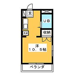 メゾン・ド・なかしま[2階]の間取り