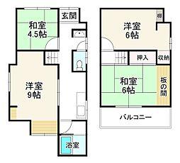 墨染駅 1,900万円