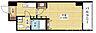 間取り,1K,面積26.97m2,賃料6.7万円,JR東海道・山陽本線 新大阪駅 徒歩3分,Osaka Metro御堂筋線 東三国駅 徒歩5分,大阪府大阪市淀川区宮原1丁目