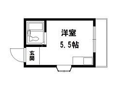 カーナハイツ[2階]の間取り