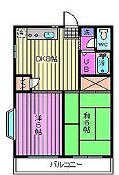 堀内マンション[302号室]の間取り