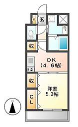フォレスト9[8階]の間取り