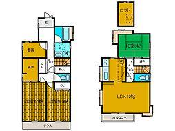 [一戸建] 神奈川県相模原市南区南台5丁目 の賃貸【/】の間取り