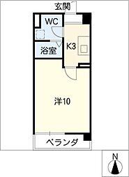竹中ビル[2階]の間取り
